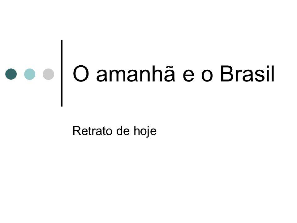 O amanhã e o Brasil Retrato de hoje