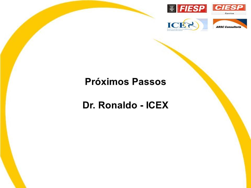 Próximos Passos Dr. Ronaldo - ICEX
