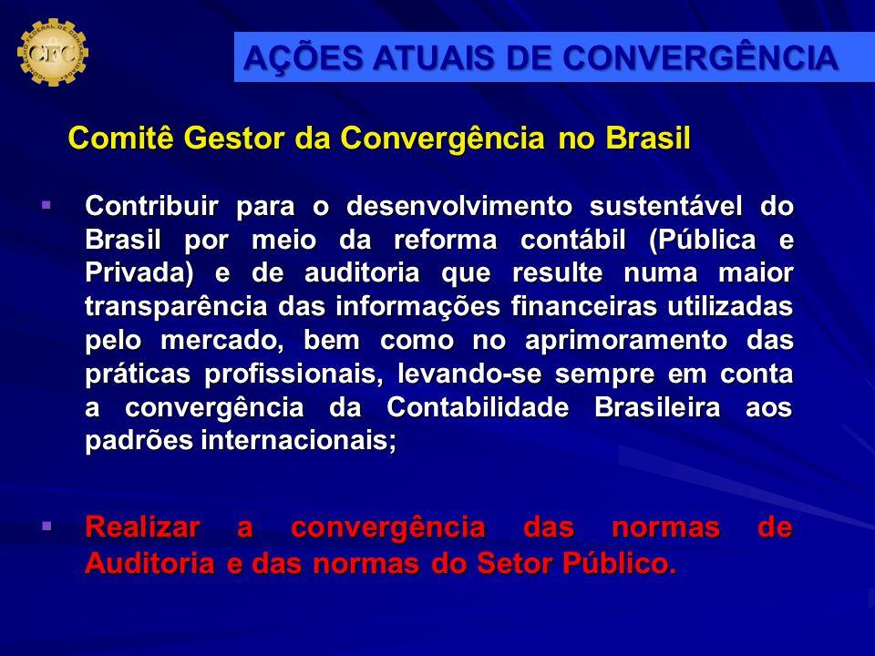 Contribuir para o desenvolvimento sustentável do Brasil por meio da reforma contábil (Pública e Privada) e de auditoria que resulte numa maior transpa