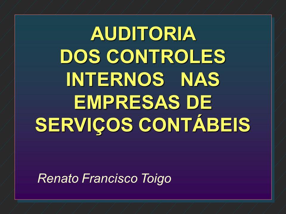 AGRADECIMENTOS n Obrigado pela oportunidade n Renato Francisco Toigo