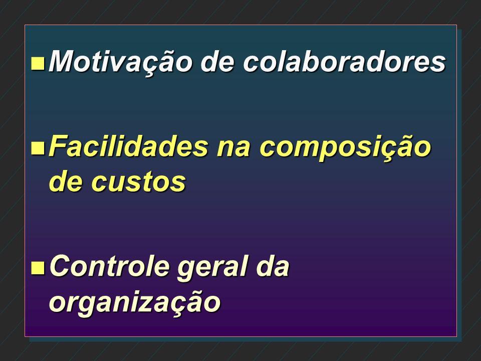 n Acompanhamento da legislação pelos auditores n Minimização de erros e consequentes indenizações n Utilização como instrumento de marketing