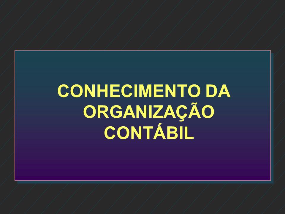 Conhecimento da organização contábil Conhecimento da organização contábil Características e mix dos serviços Características e mix dos serviços Estrut