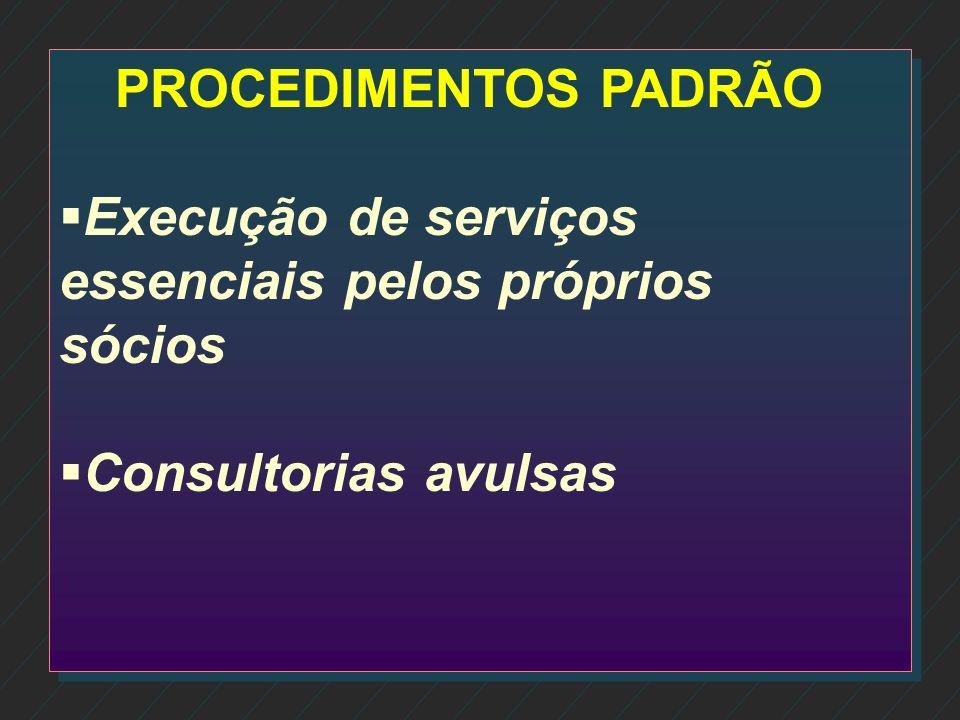 n n Analise da competência dos colaboradores n Atribuição de responsabilidades n Facilidade na execução das tarefas
