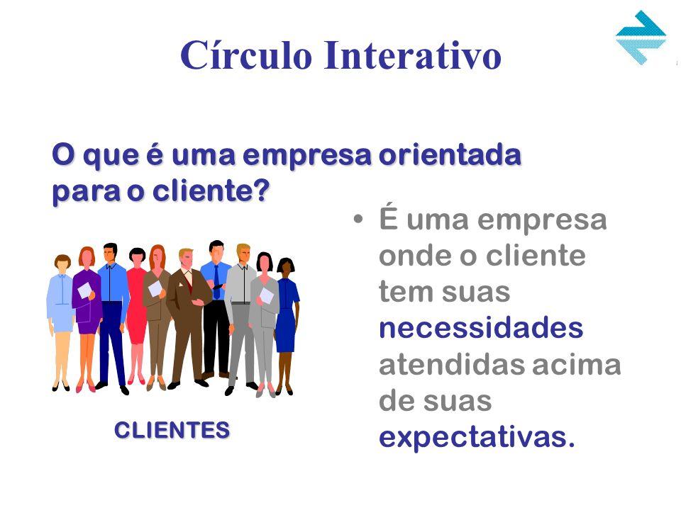 É uma empresa onde o cliente tem suas necessidades atendidas acima de suas expectativas. O que é uma empresa orientada para o cliente? Círculo Interat