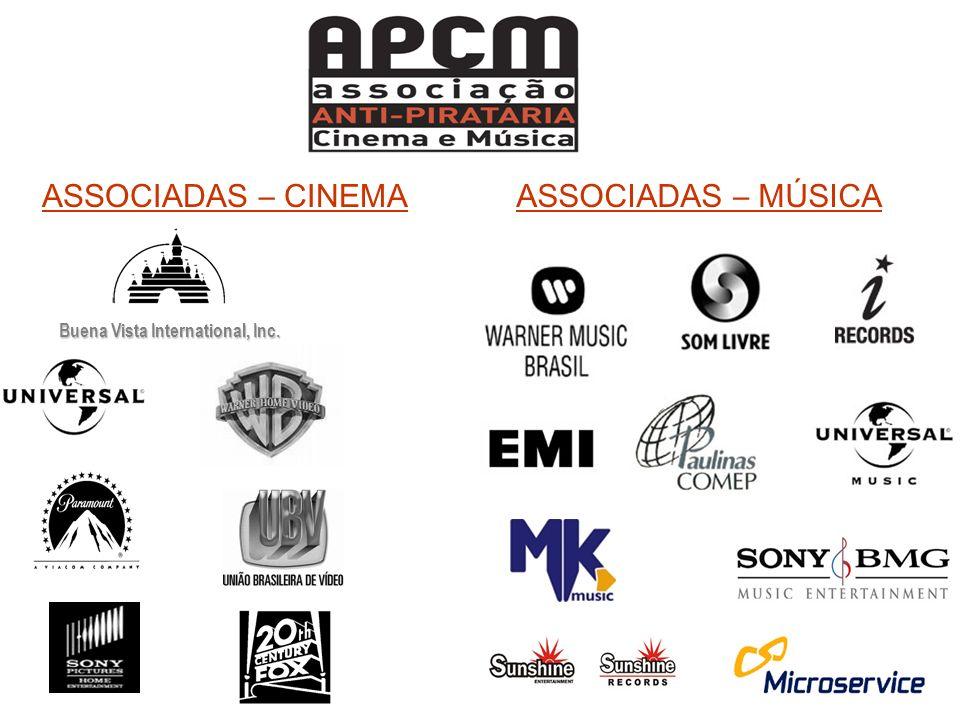 ASSOCIADAS – MÚSICA Buena Vista International, Inc. ASSOCIADAS – CINEMA