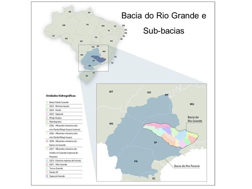 Bacia do Rio Grande e Sub-bacias