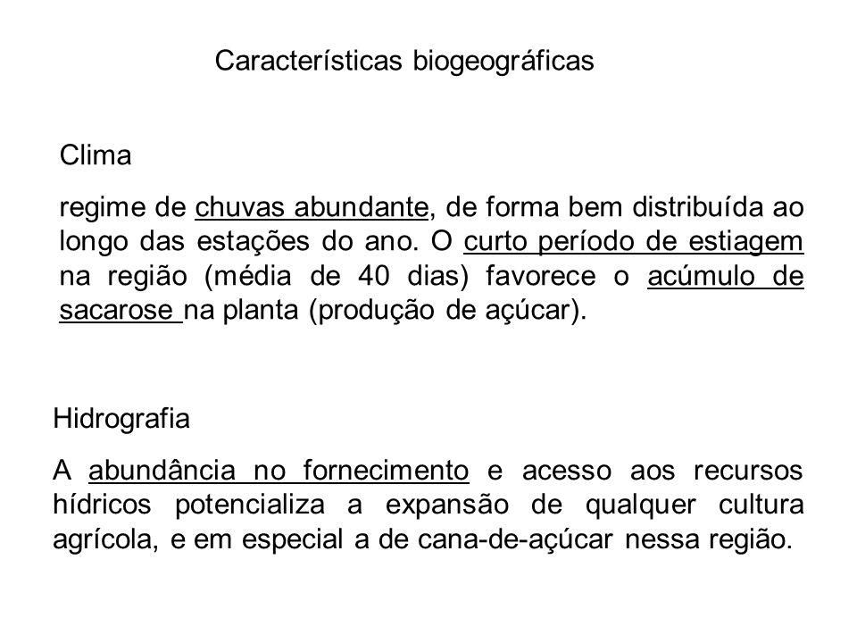 Vegetação A região encontra se em uma área de transição entre Mata Atlântica e Cerrado, o que muitas vezes indica diferença entre manchas de solo, microclimas e outros fatores determinantes para o estabelecimento de espécies nativas de um ou outro bioma.