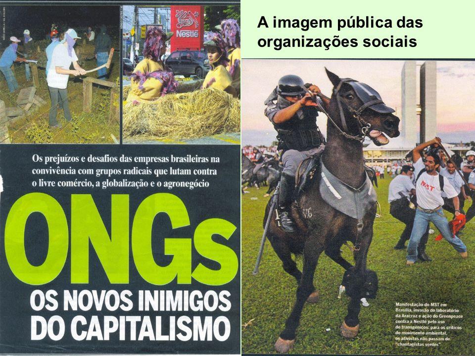 A imagem pública das organizações sociais