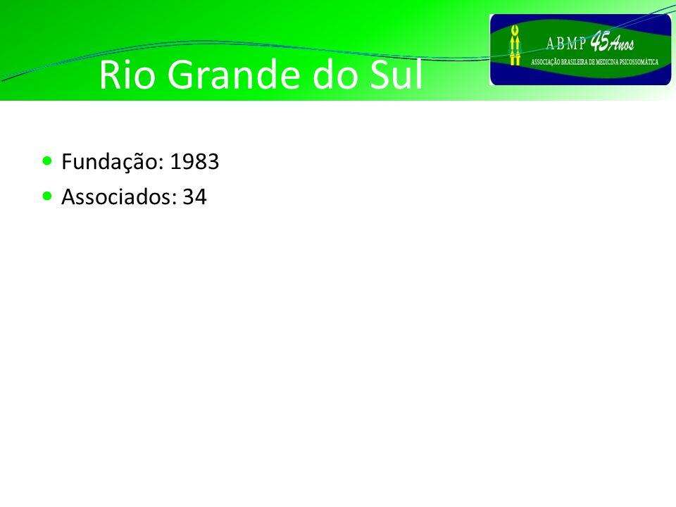 Rio Grande do Sul Fundação: 1983 Associados: 34