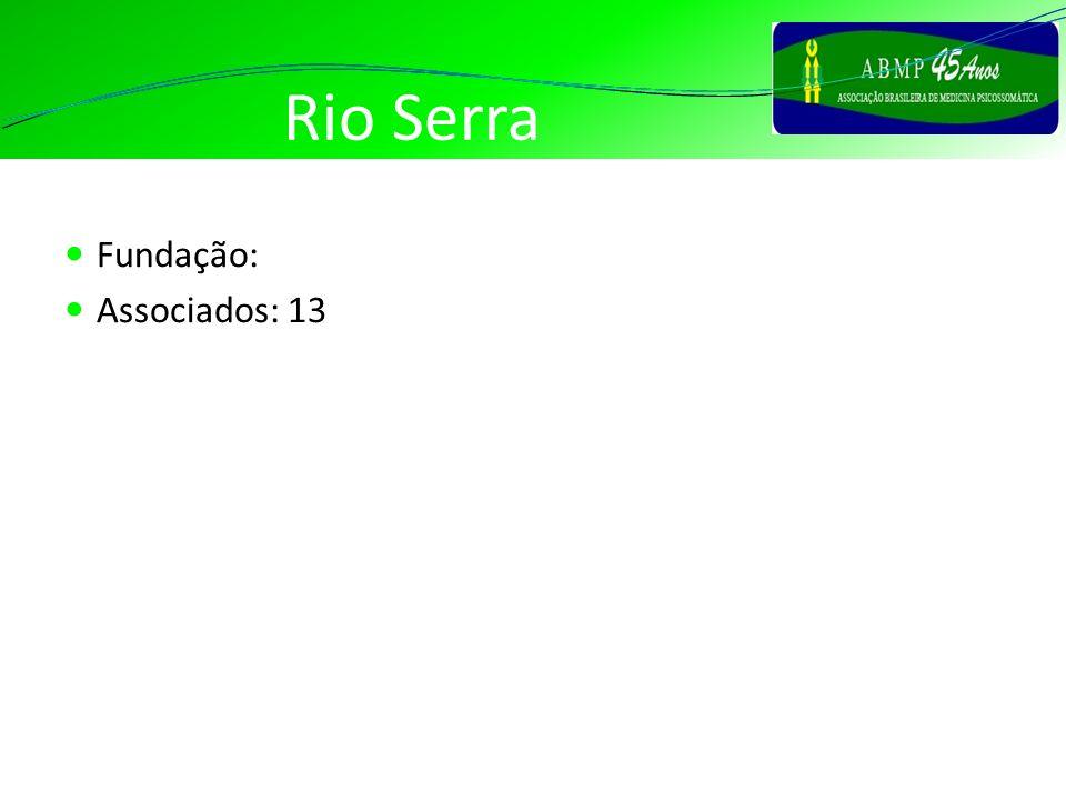 Rio Serra Fundação: Associados: 13