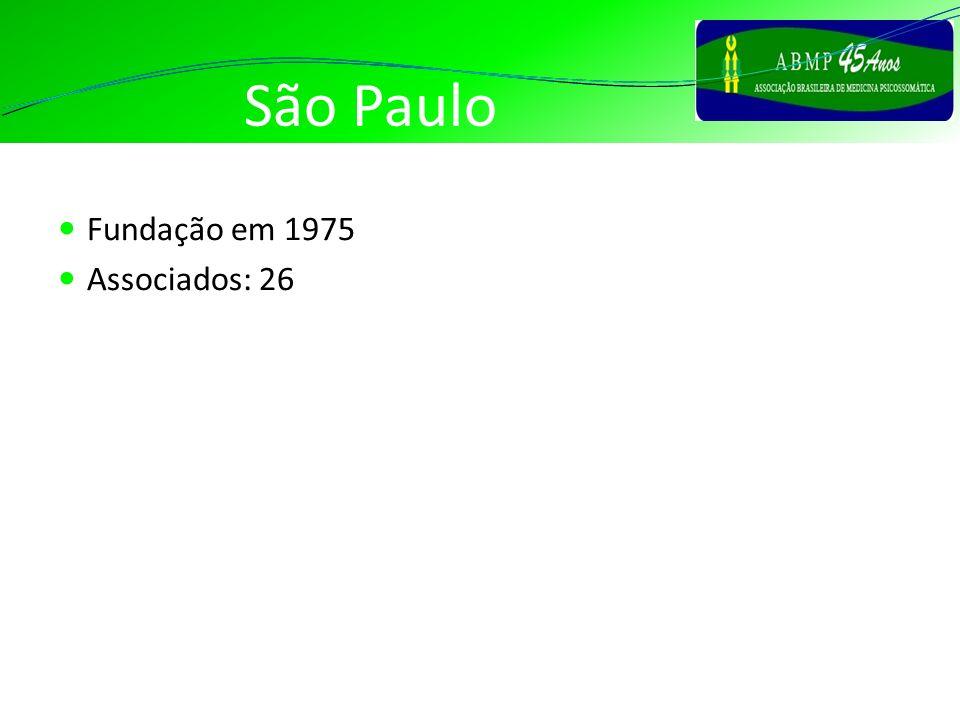 São Paulo Fundação em 1975 Associados: 26