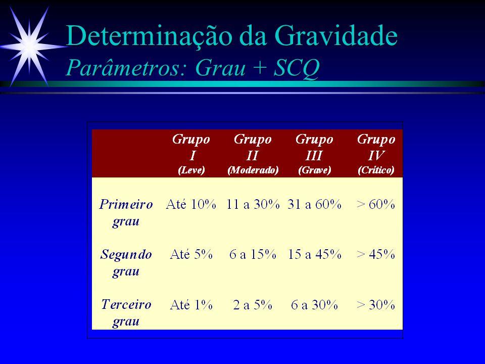 Primeiro Atendimento Determinar a SCQ - Lund-Browler % 2. 3. % 2. 3. ä Cabeça 7 ä Pescoço 2 ä Tórax ant 13 ä Tórax post 13 ä Nádega D2,5 ä Nádega E2,5