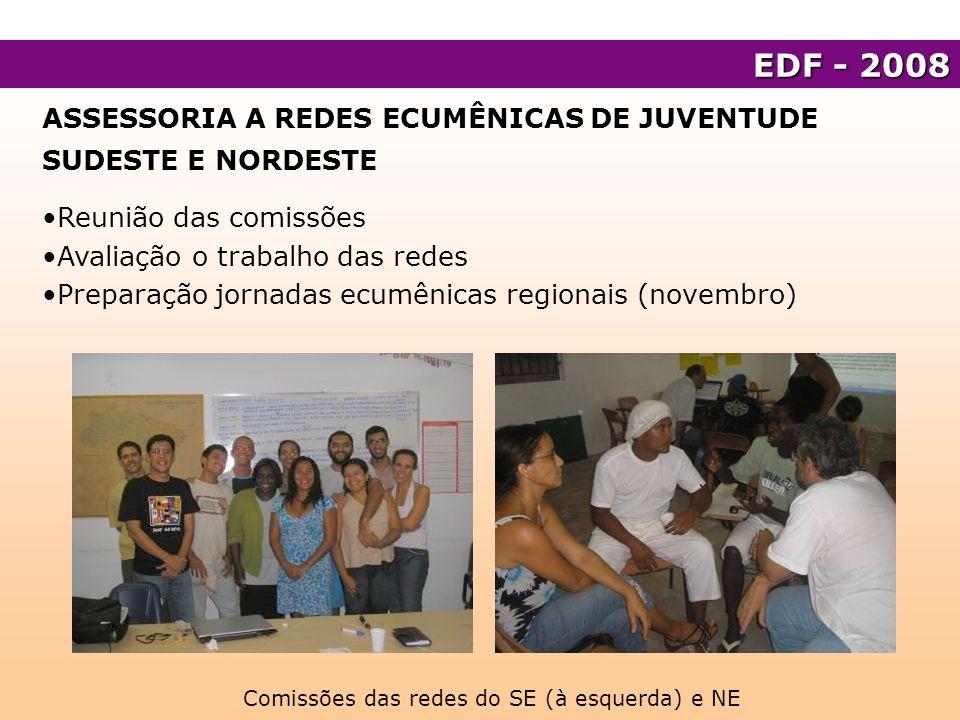 RJ- FORMAÇÃO Assessoria à Fetag na realização do projeto Jovens camponeses fluminenses participando e construindo cidadania integral e processos de organização social Participação em Curso de Formação Sindical Assessoria à Comissão de Jovens Rurais do Norte Fluminense.