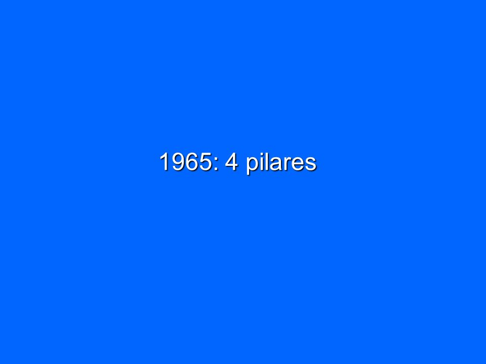 1965: 4 pilares