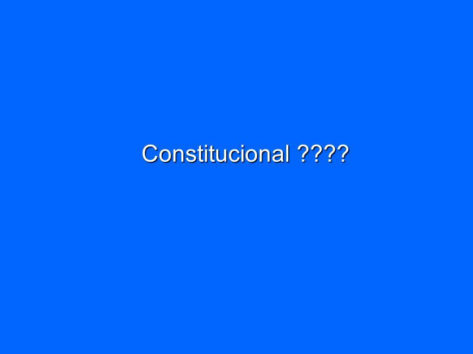 Constitucional ????