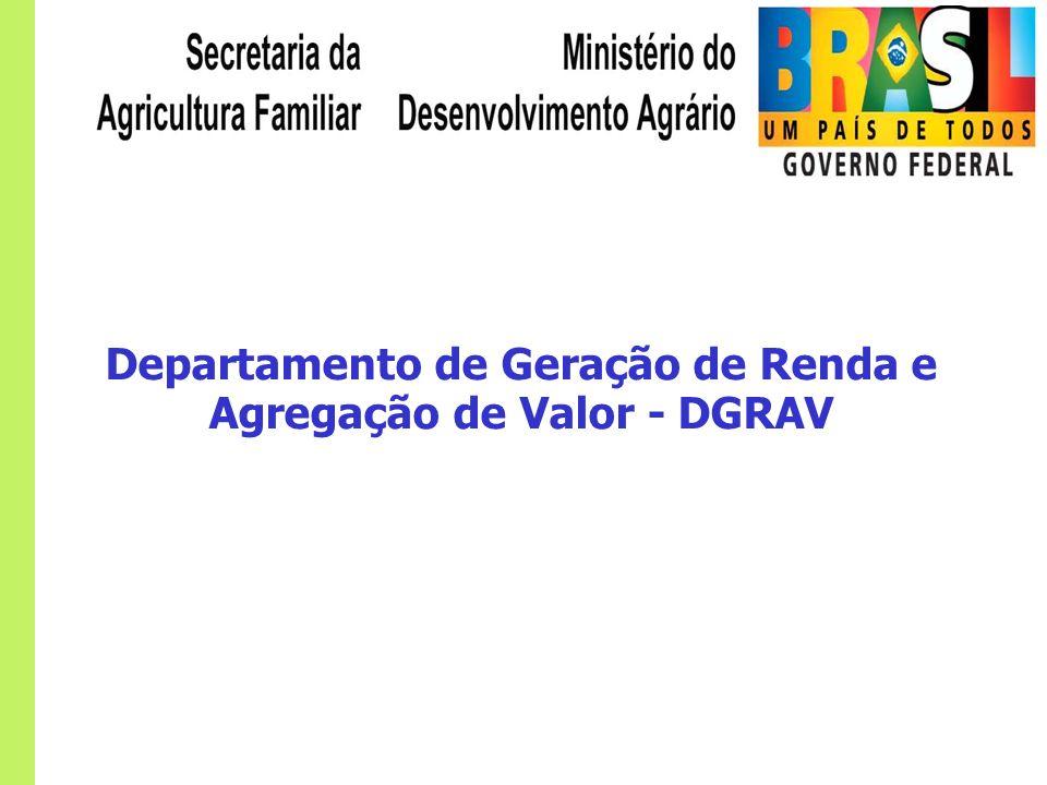 Departamento de Geração de Renda e Agregação de Valor - DGRAV