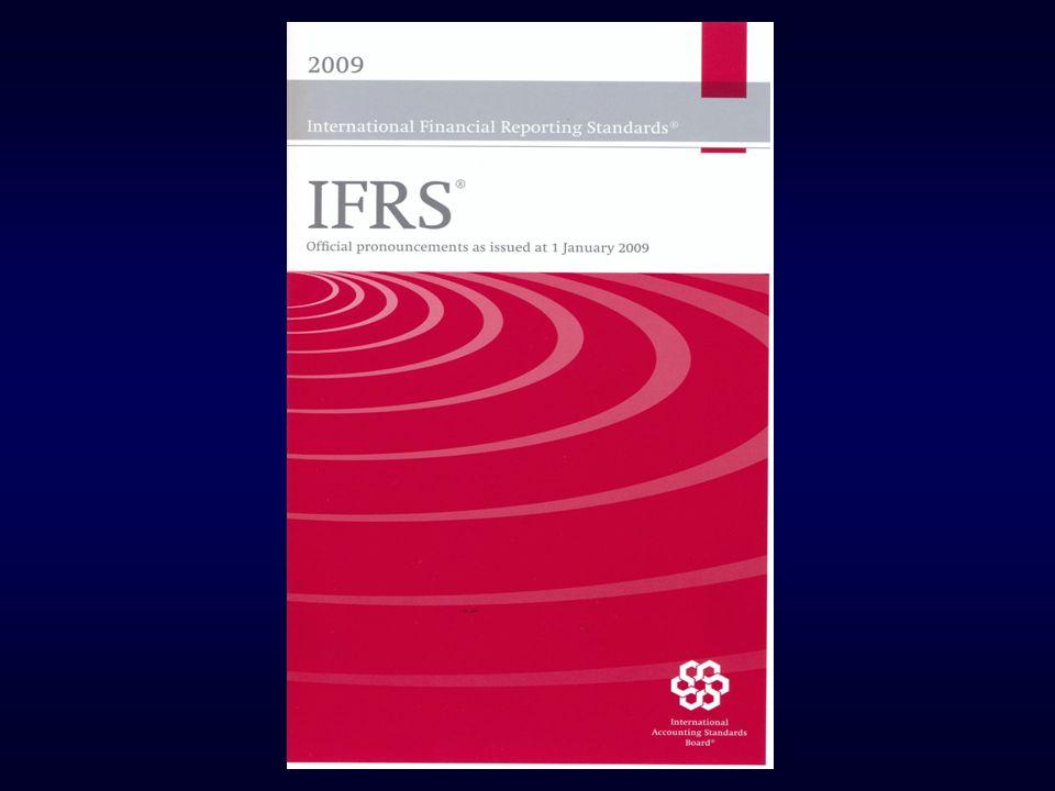 IASB - O FUTURO Due Process - importante Nenhuma nova norma importante vigente antes de 2011.
