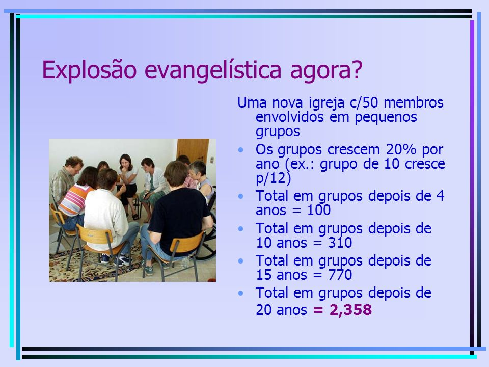Princípio do Pentecoste Holy Spirit power House-based church