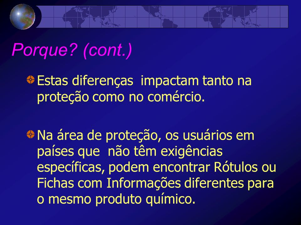 Documento do GHS ( Livro Púrpura) ANNEXES A1Allocation of label elements A2Classification and labelling summary tables A3Precautionary statements, pictograms A4Consumer product labelling based on the likelihood of injury A5Comprehensibility testing methodology A6Examples of arrangements of the GHS label elements A7An example of classification in the Globally Harmonized System A8Guidance on aquatic hazards A9Guidance document on transformation/dissolution of metals and metal compounds in aqueous media