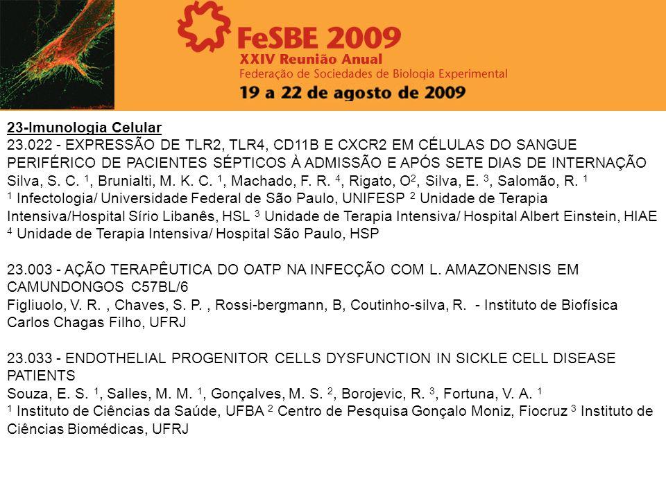 23-Imunologia Celular 23.022 - EXPRESSÃO DE TLR2, TLR4, CD11B E CXCR2 EM CÉLULAS DO SANGUE PERIFÉRICO DE PACIENTES SÉPTICOS À ADMISSÃO E APÓS SETE DIA