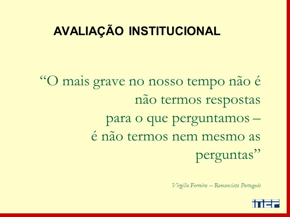 O mais grave no nosso tempo não é não termos respostas para o que perguntamos – é não termos nem mesmo as perguntas Virgílio Ferreira – Romancista Por