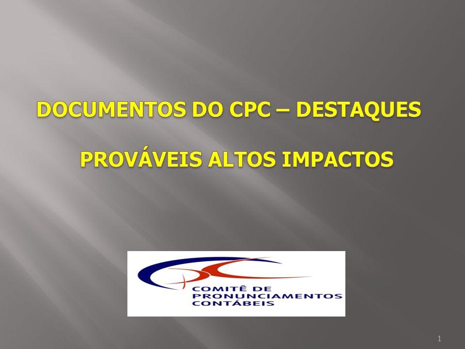ICPC 01 – Concessões com infraestrutura do Estado, regulação da tarifa e outras características: o custo do imobilizado construído é custo de aquisição do direito de concessão; se parte ressarcível, reduz o custo do direito e vira instrumento financeiro.