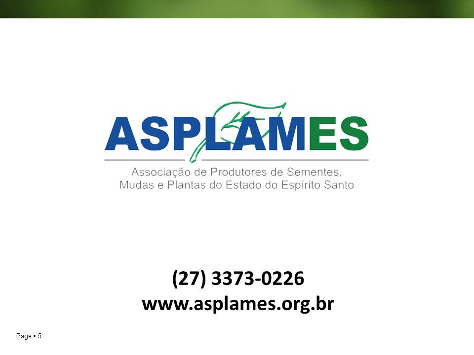 Page 5 (27) 3373-0226 www.asplames.org.br