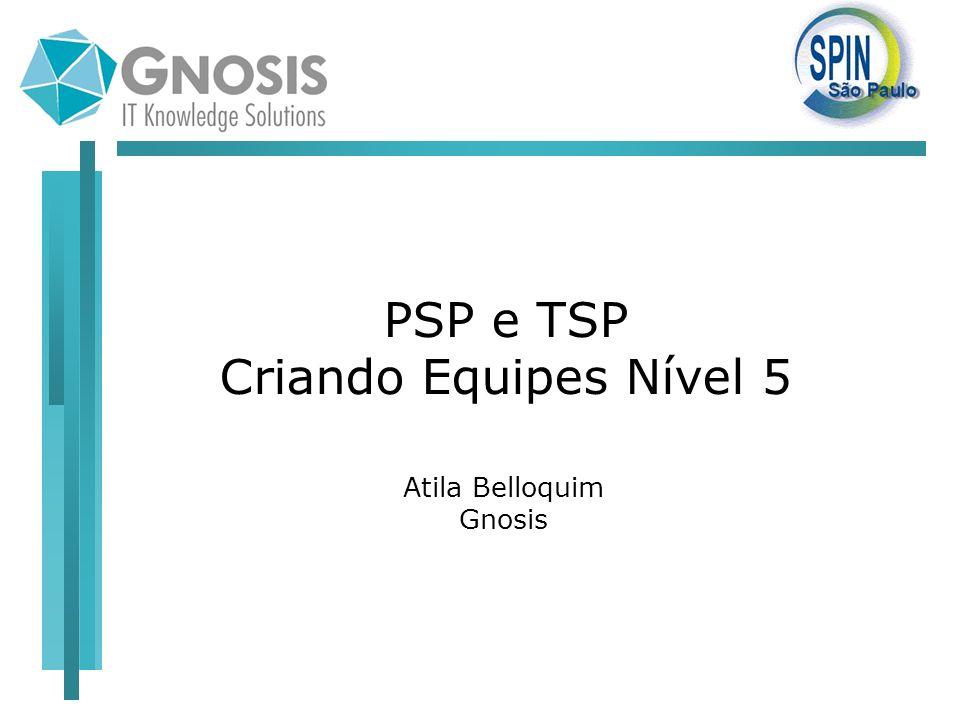 PSP e TSP Criando Equipes Nível 5 Atila Belloquim Gnosis