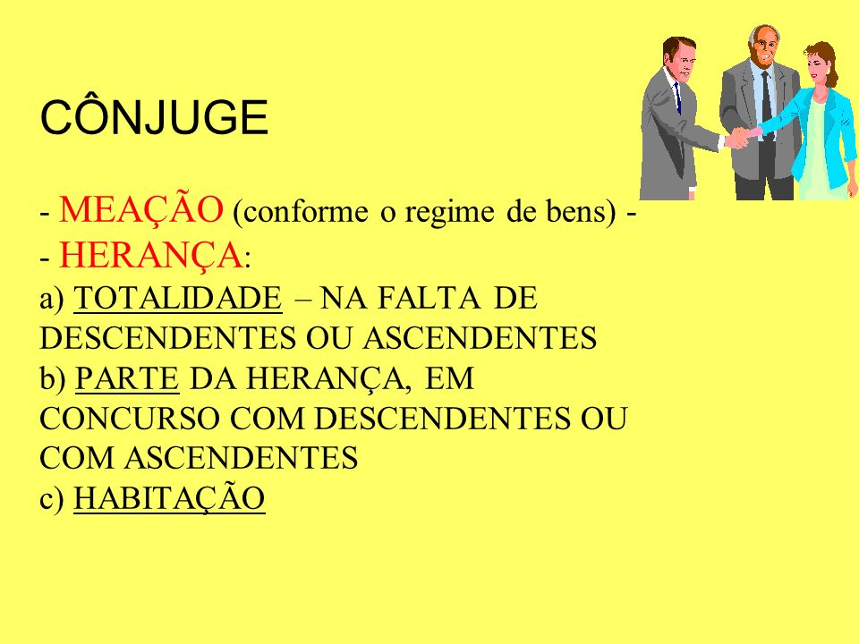 CONCORRÊNCIA SUCESSÓRIA concorrênciaO instituto da concorrência do cônjuge e do companheiro, no novo direito sucessório brasileiro: concorrênciaO que