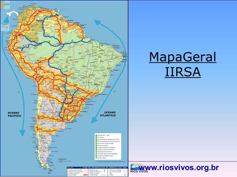 MapaGeral IIRSA