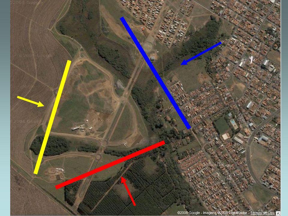 Zona de transição Corresponde as áreas subjacentes a linha de transmissão de energia.