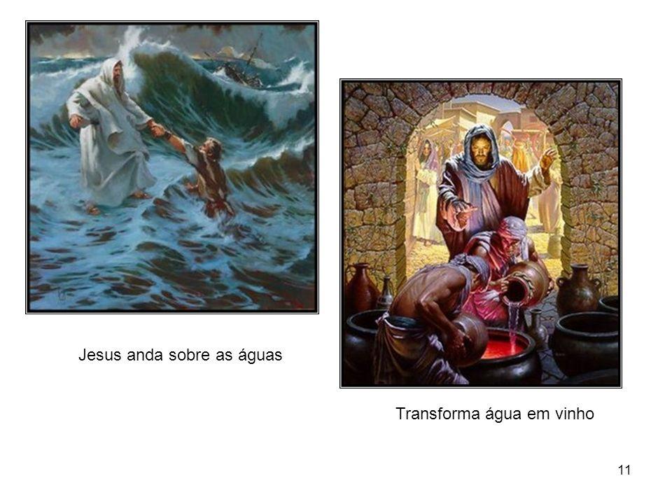10 Jesus acalma a tempestade A pesca maravilhosa Multiplicação de pães e peixes