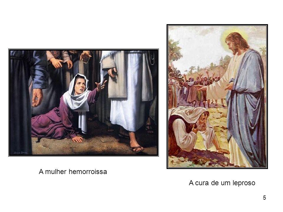 4 A filha de Jairo O cego de nascença