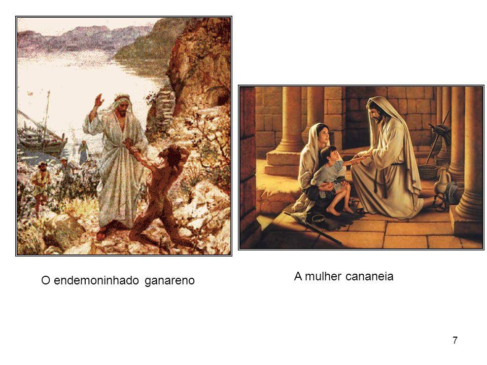 27 a diminuta semente de mostarda serve para explicar a fé; o talento enterrado adverte quanto a responsabilidade do homem o joio e o trigo simbolizam a divisão profética dos bons e dos pecadores