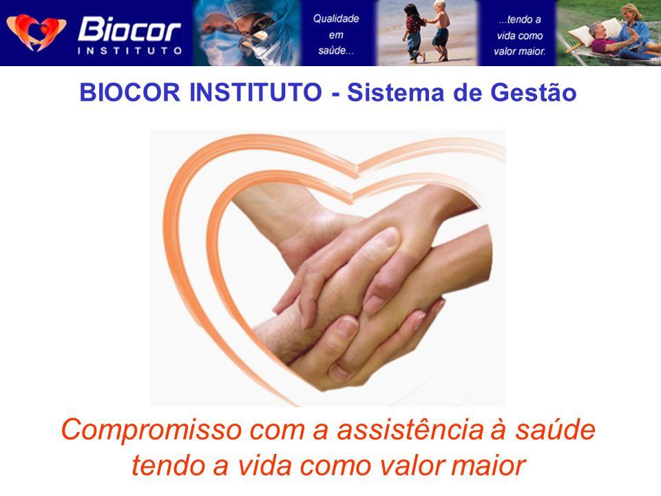 BIOCOR INSTITUTO - Sistema de Gestão Compromisso com a assistência à saúde tendo a vida como valor maior