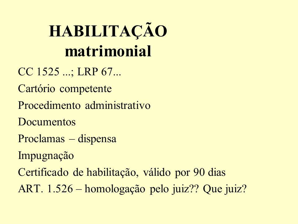 CAUSAS SUSPENSIVAS: art.1521: não devem casar A viuva alegre e outros causos...