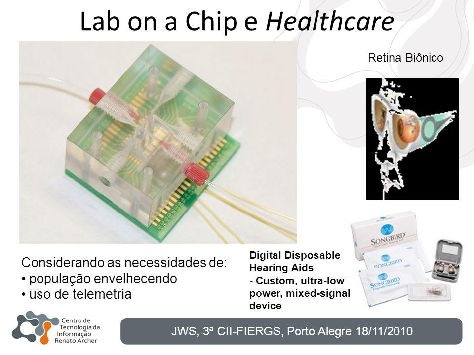 Lab on a Chip e Healthcare Digital Disposable Hearing Aids - Custom, ultra-low power, mixed-signal device Retina Biônico Considerando as necessidades