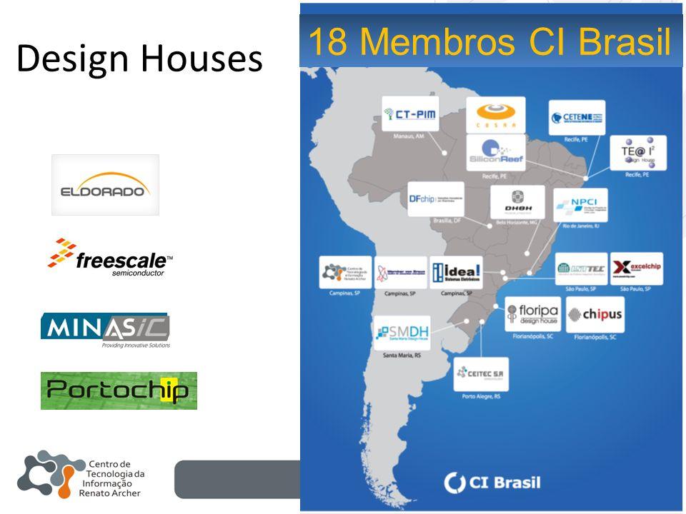 Design Houses 18 Membros CI Brasil