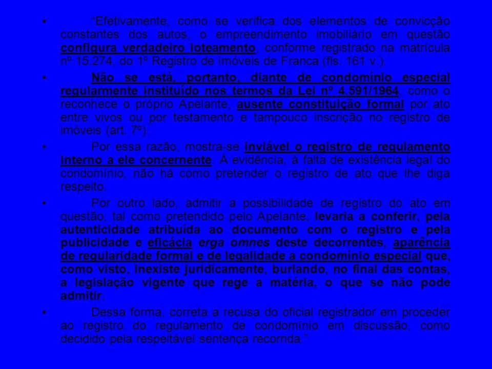conservação da prova Lei 6.015/1973 Art.161.