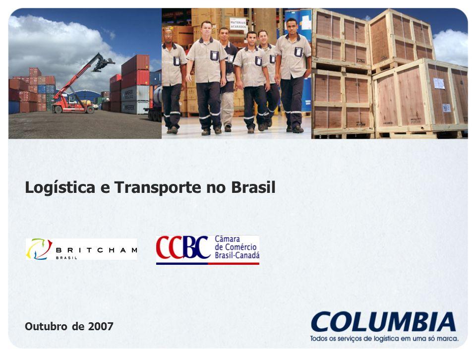 Histórico - Columbia Fundada pela Esteve Irmãos S/A em 1942, a Columbia é hoje uma das líderes no setor de logística integrada no Brasil.