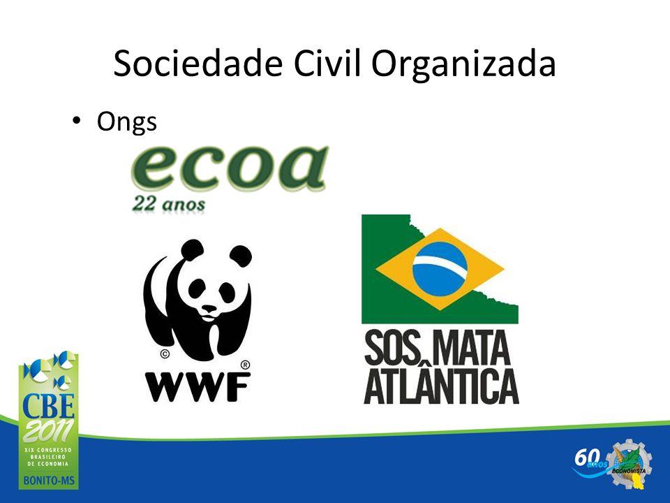 Sociedade Civil Organizada Ongs