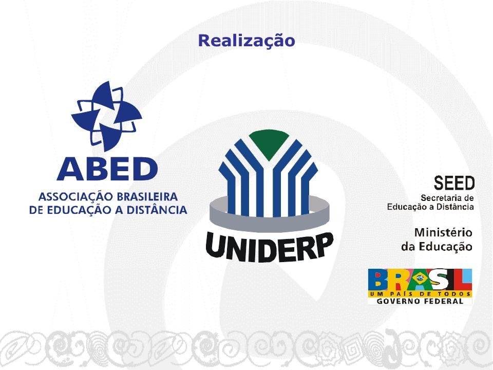 Avaliação Geral Oficina 2 OpenLearn: Recursos Educacionais Abertos Visando a Inclusão Educacional Superior Oficina 1 Regulamentação da Educação a Distância no Brasil Oficina 5 TICs na Educação: A Co-Autoria como Estratégia Pedagógica