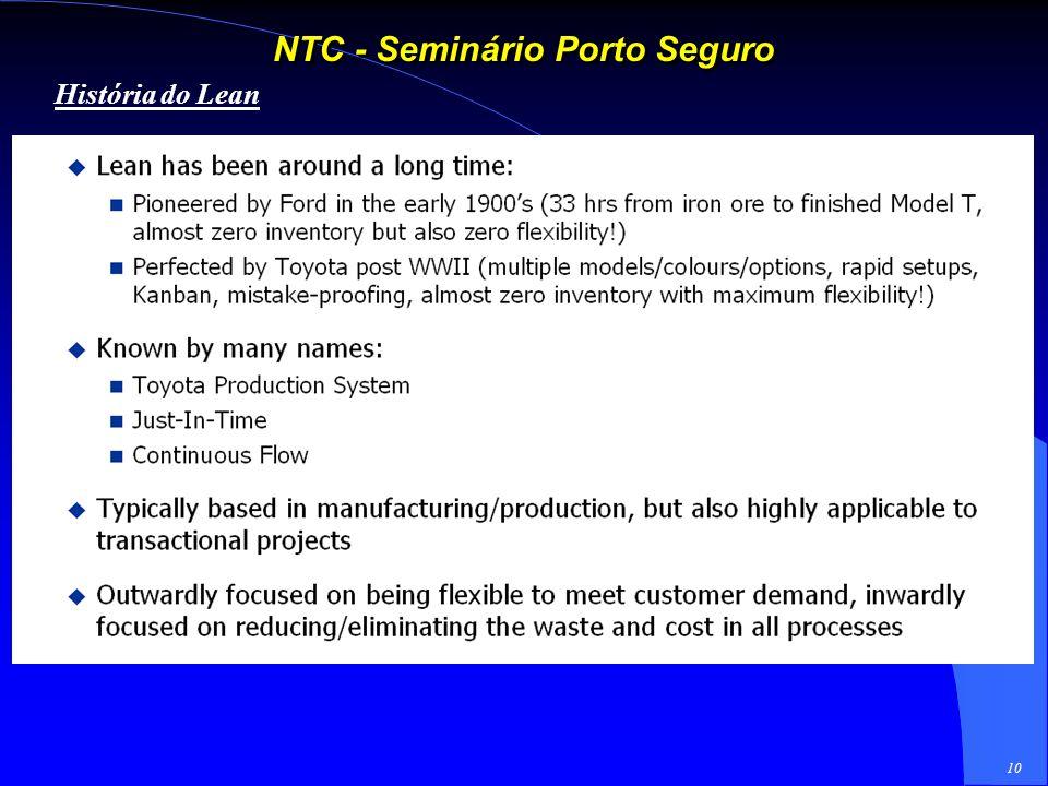 9 NTC - Seminário Porto Seguro Porque 99% não é suficientemente bom