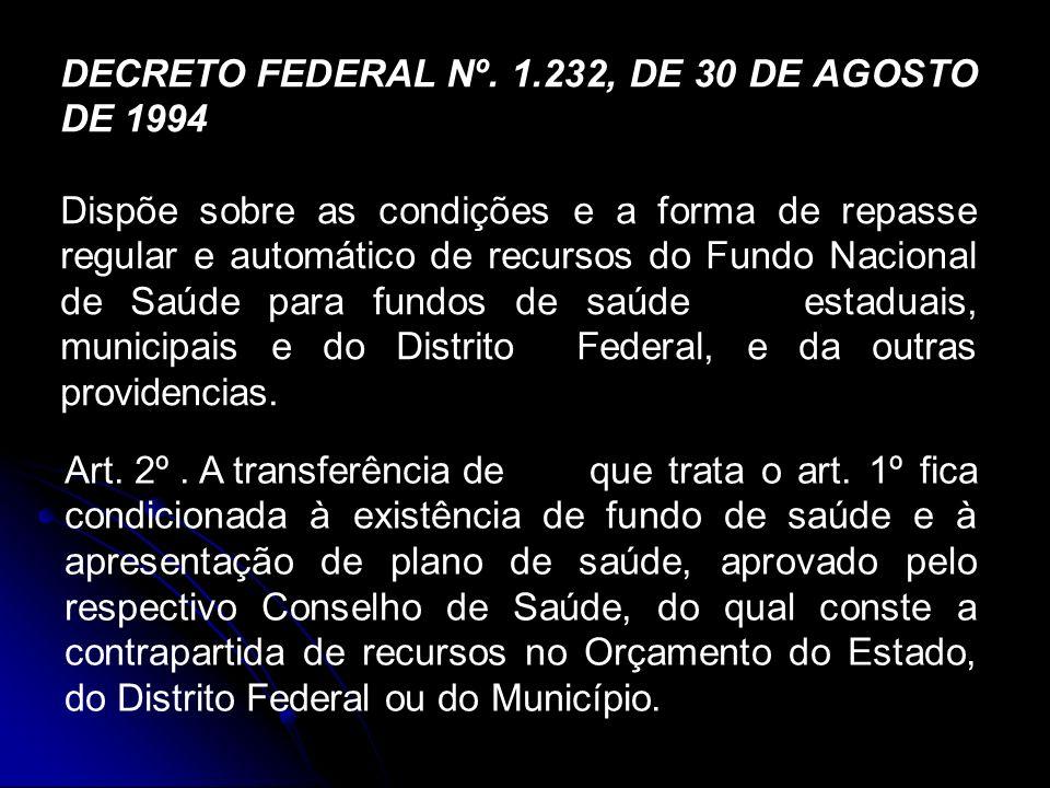 DECRETO FEDERAL Nº.