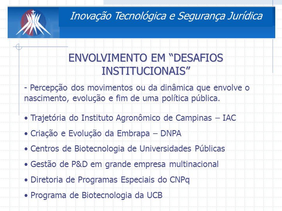 3ª Conferência Nacional de Ciência, Tecnologia e Inovação CRIAÇÃO Ato do Imperador CRIAÇÃO DO FUNDO DE PESQUISA DOAÇÃO ADQUIRE AUTONOMIA APERFEIÇOAMENTO DO FUNDO DE PESQUISA + RECEITAS INÍCIO DO PROCESSO EVOLUTIVO CENRALIZAÇÃO 188719491954 1967 CONSOLIDAÇÃO EXTINÇÃO DO FUNDO DE PESQUISA EXTINÇÃO DAS COMISSÕES TÉCNICAS LACUNA NO SISTEMA DE PESQUISA AGROPECUÁRIA IAC 2005 REENCONTRANDO O CAMINHO .