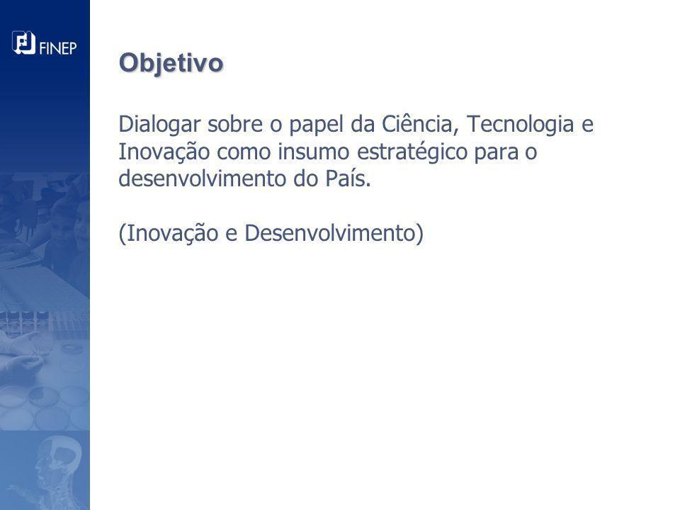 Aumentar o investimento em P&D Situação atual Meta Brasil Maior + 18 bilhões P&D empresarial em relação ao PIB - % Em Reais (bilhões)...