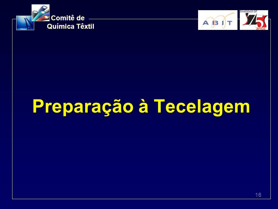 16 Comitê de Química Têxtil Preparação à Tecelagem
