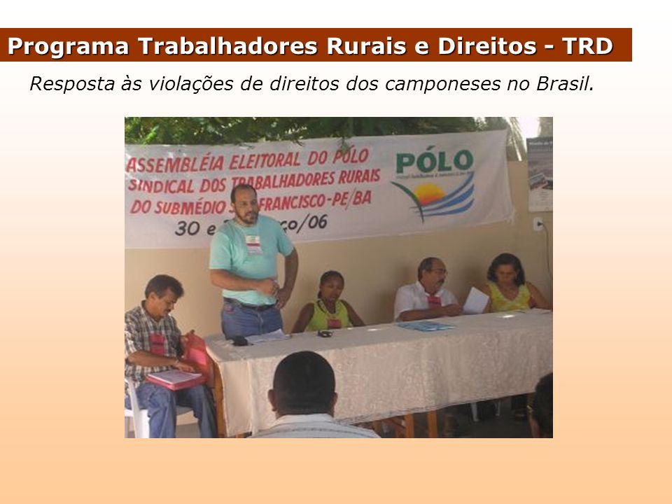 Intensificação do trabalho de base no estado; Contratação de assessoria jurídica para atender a demanda das comunidades.