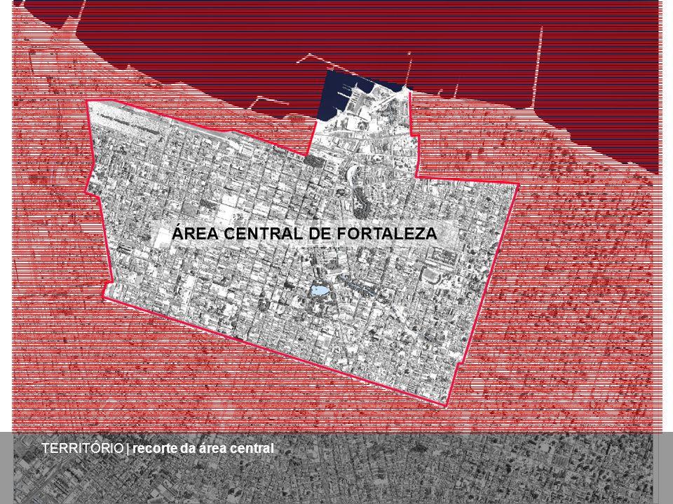 TERRITÓRIO | recorte da área central ÁREA CENTRAL DE FORTALEZA