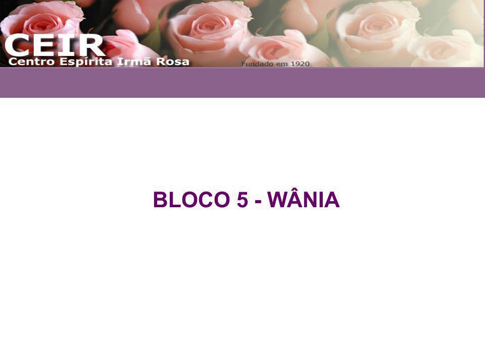 BLOCO 5 - WÂNIA
